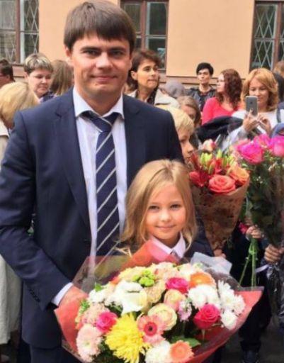 Сергей Боярский со своей младшей дочкой
