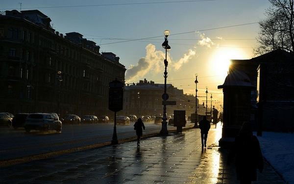 Чемпионка Советского Союза проводит много времени на Невском проспекте