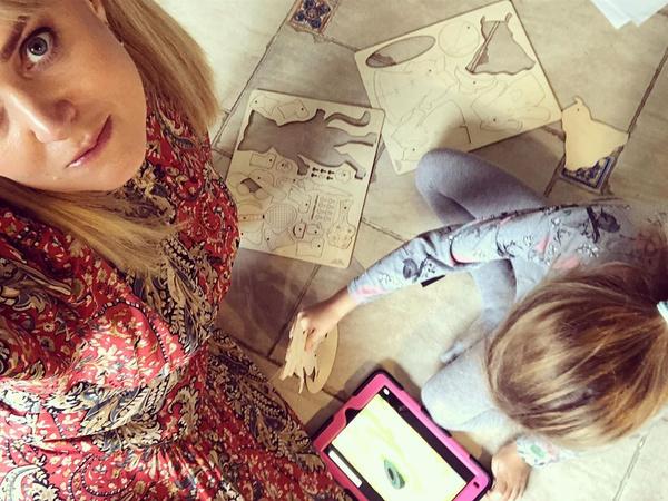 Анна Михалкова получила пособие на ребенка