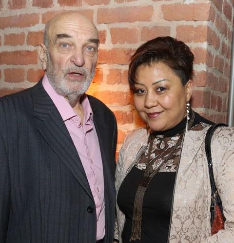 Алексей Петренко и его последняя жена Азима Абдумаминова