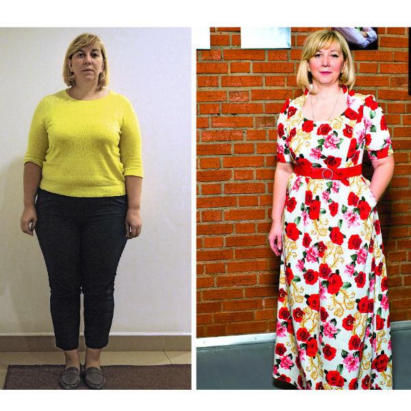 Ирина Иванюк, читательница из Москвы. ДО: 122 кг. ПОСЛЕ: 100 кг