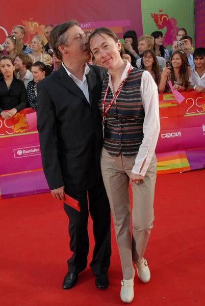 Михаил Ефремов с женой Софьей