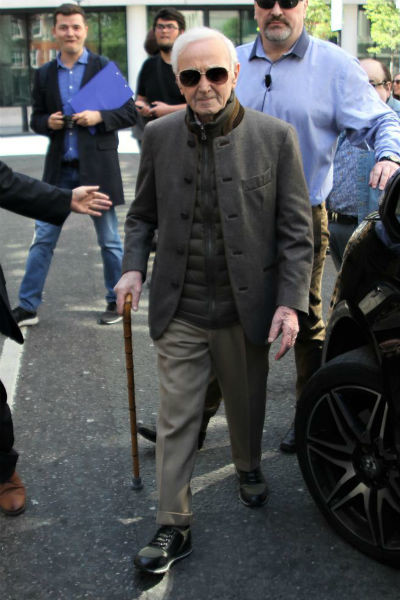 Шарль Азнавур плохо себя чувствовал в последнее время