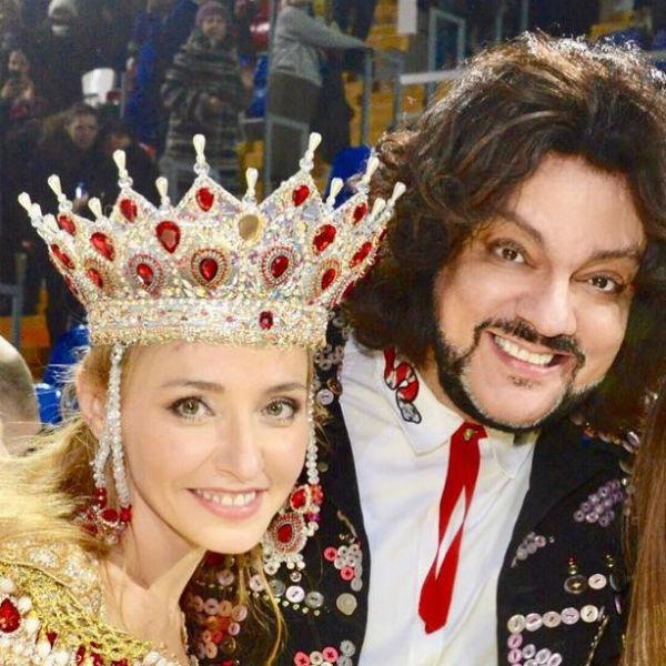 Татьяна Навка и Киркоров