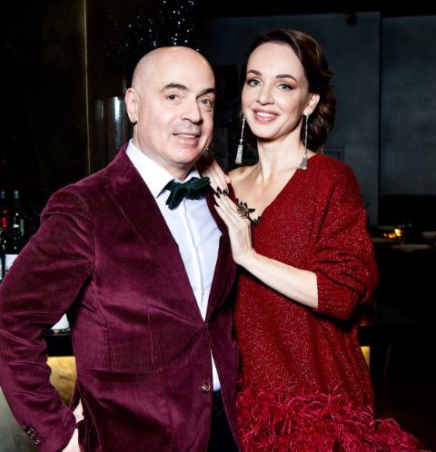 Михаил Грушевский с супругой
