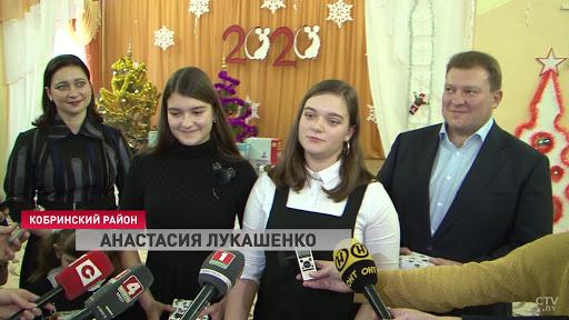 Анастасия Лукашенко собирается учиться в Москве