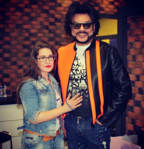 Анна и Филипп Киркоровы