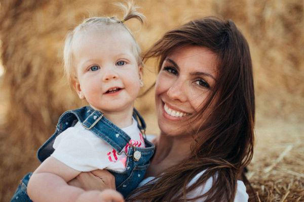 Лена с мамой Натальей