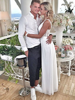 Ольга Бузова и Дмитрий Тарасов счастливы в браке уже три года