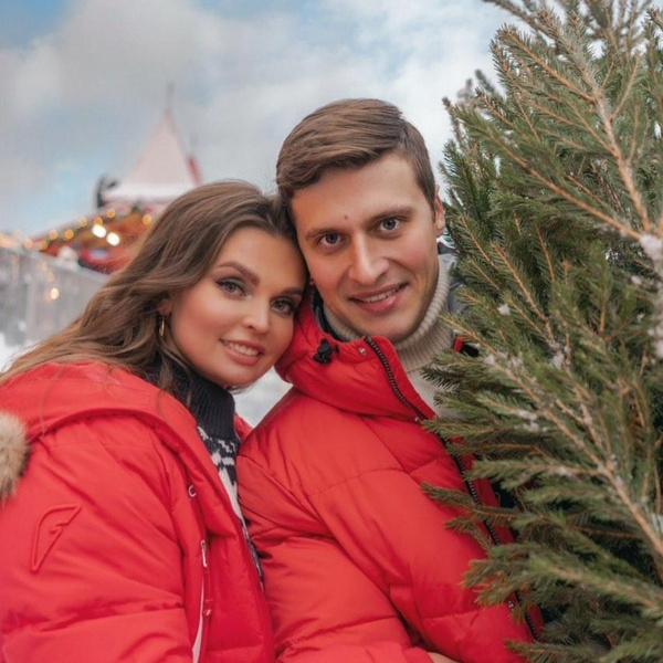 Александр Энберт с женой Алесей