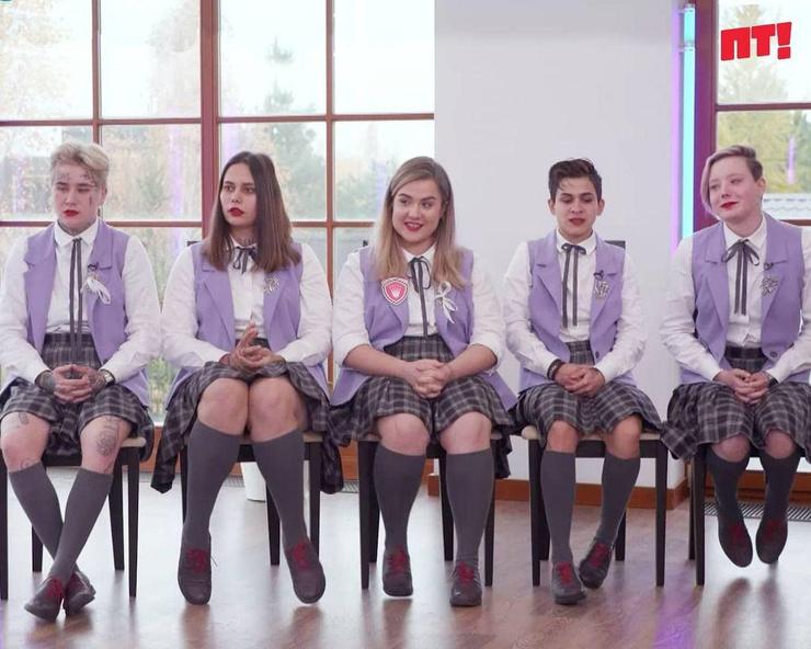 Участницы шоу «Пацанки»