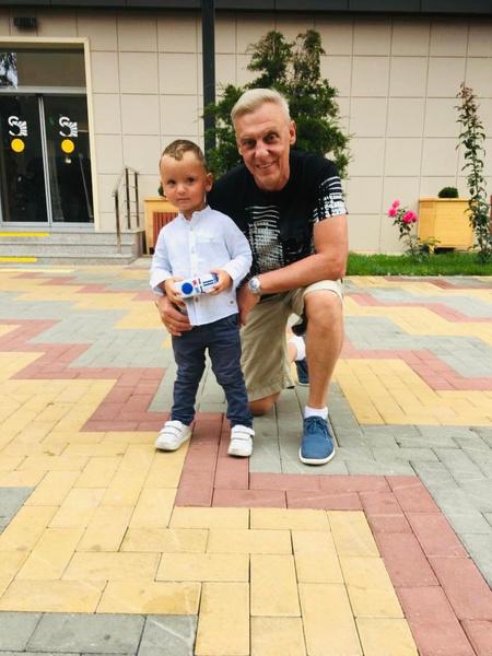 Актер с сыном Андреем
