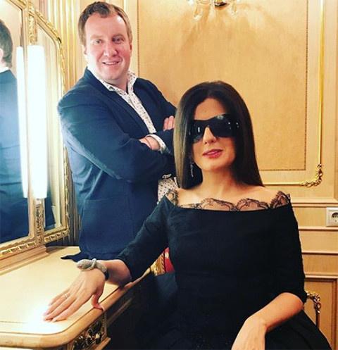 Диана Гурцкая с супругом