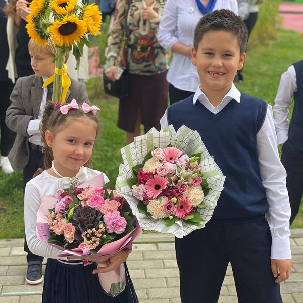 Мия и Тимофей Прилучные