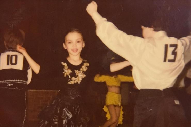 Ольга Серябкина с детства занималась музыкой и танцами
