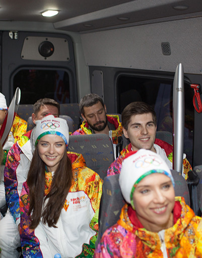 Марина Александрова, Дмитрий Борисов и Ксения Алферова