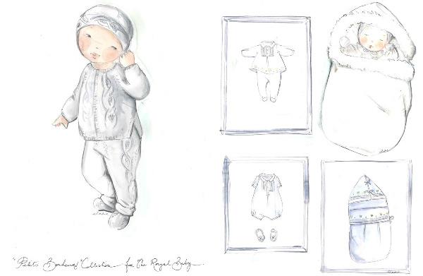 """""""Грудничковый набор"""" от Christian Dior"""