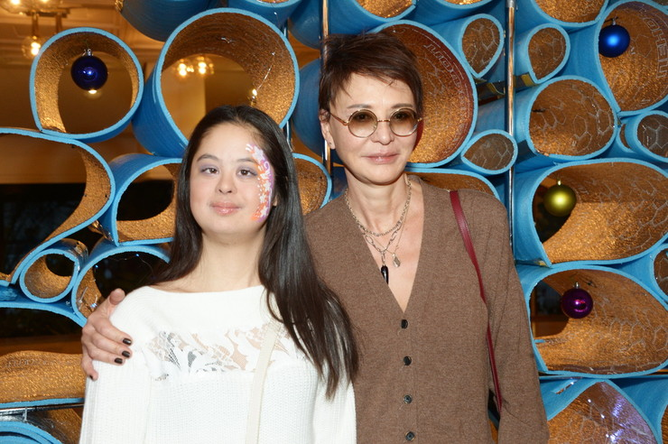 Хакамада с дочерью Машей