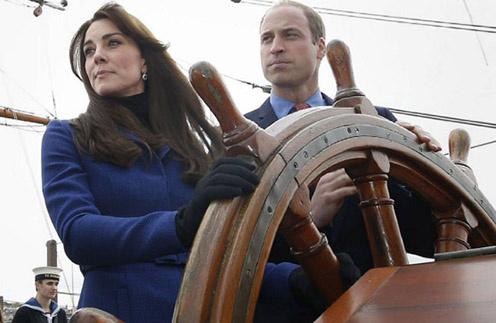 Герцогиня Кембриджская Кейт Миддлтон и принц Уильям
