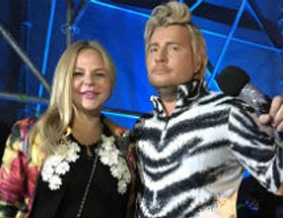 Николай Басков сразил публику «Новой волны» костюмом тигра