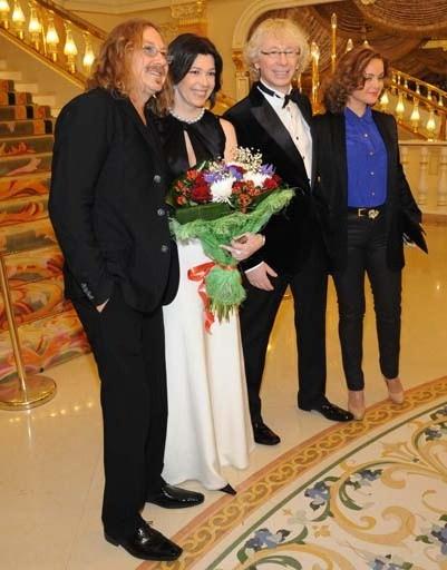 Игорь Николаев с супругой
