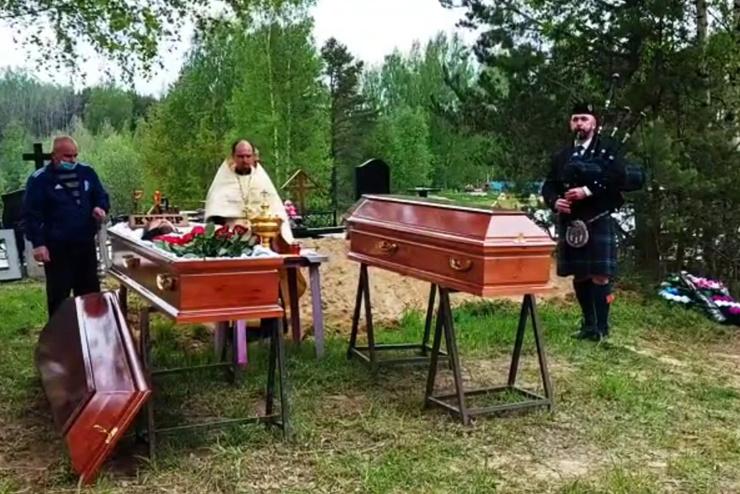 Купера похоронили на кладбище «Красная горка».