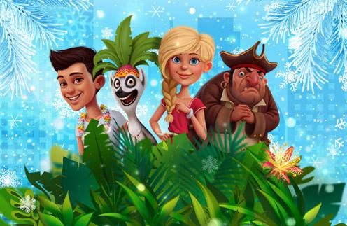 Новогоднее спортивное шоу «Приключения на Мадагаскаре»