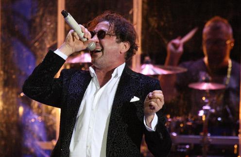 Григорий Лепс на сольном концерте в Москве