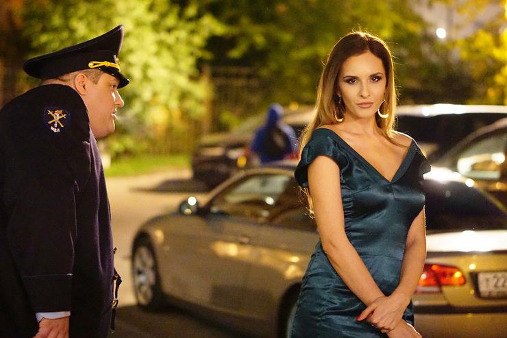 Роль в «Полицейском с Рублевки» оказалась для Каштановой звездной
