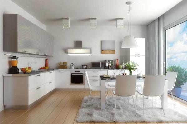 На просторной кухне Агибалова станет готовить завтраки всей семье