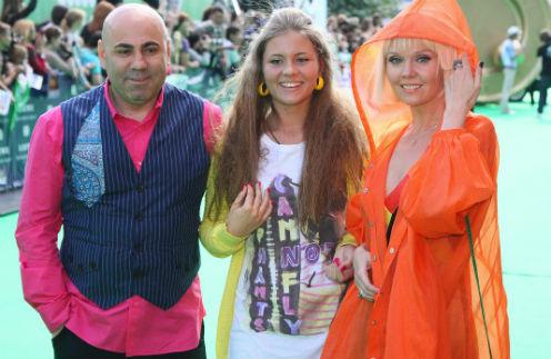 Иосиф Пригожин и Валерия с дочерью Анной