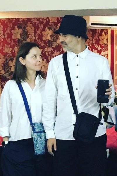 В сложных ситуациях актрису поддерживает муж Артур