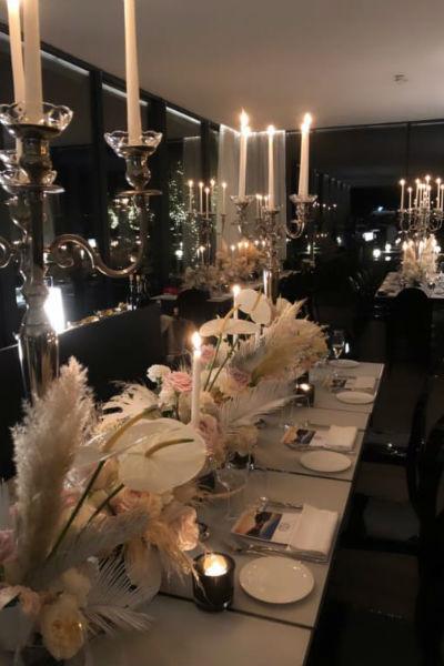Жених и невеста сами продумывали все детали торжества
