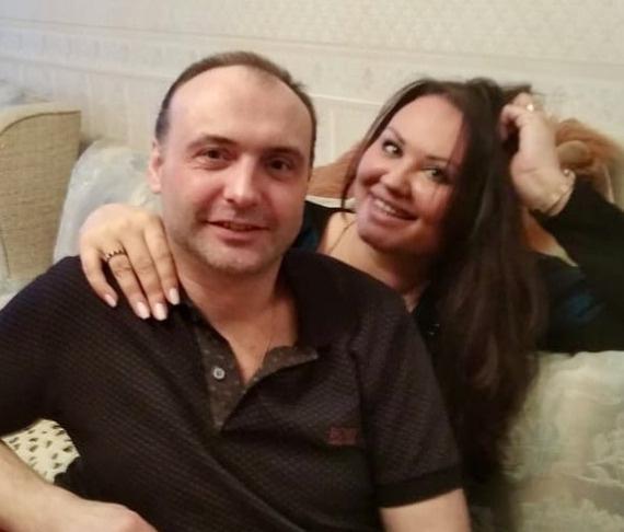 Марк Горонок с женой Анной