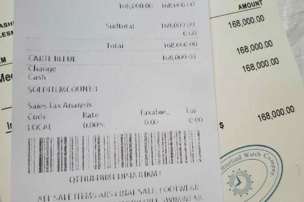 Цена часов Алессандро более 10 миллионов рублей