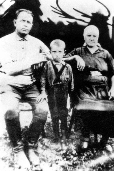 Детство Михаила Горбачева прошло в селе Привольное Ставропольского края