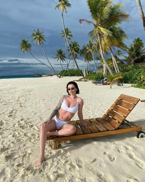 Блогер довольна новой грудью