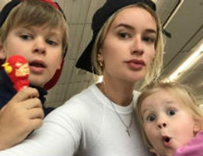 Елена Бушина попала в больницу с детьми