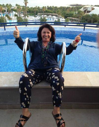 Для своего отдыха Надежда Бабкина выбрала солнечную Турцию