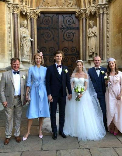 Игорь, Оксана и Даниил Бутман с невестой и родными