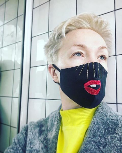 Дарья Мороз выбрала забавный аксессуар
