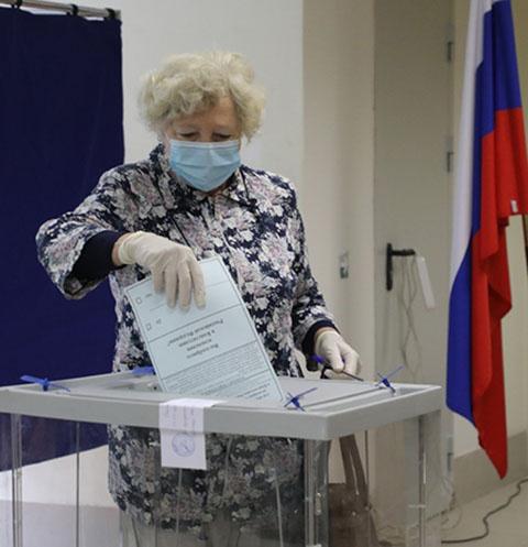 За принятие поправок к Конституции проголосовали 77,92% избирателей