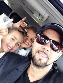 Денис Клявер с дочерью Эвелиной