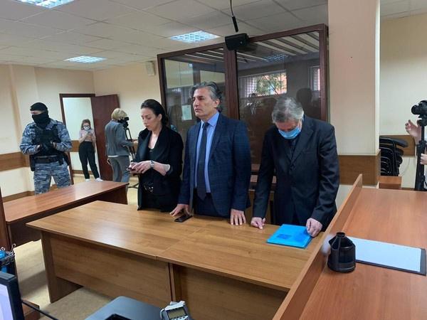 Ефремов в суде на оглашении приговора