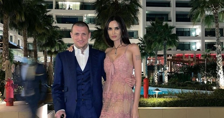 Павел Мамаев и Алана Мамаева
