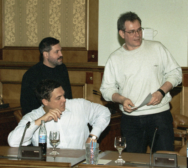 Сергей много лет проработал бок о бок с Александром Любимовым и Михаилом Леонтьевым