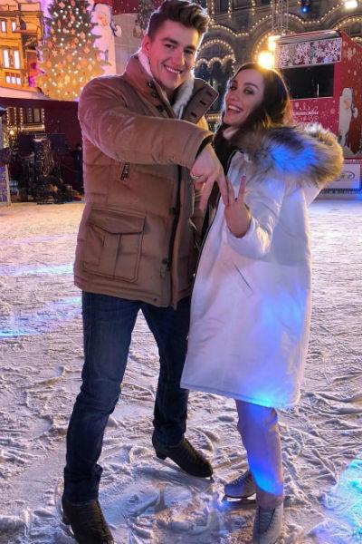 Алексей Воробьев и Виктория Дайнеко начали встречаться в конце прошлого года