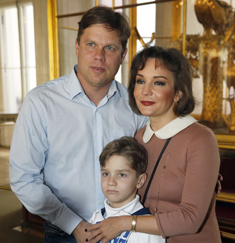 Татьяна Буланова с Владиславом Радимовым и их общим сыном Никитой