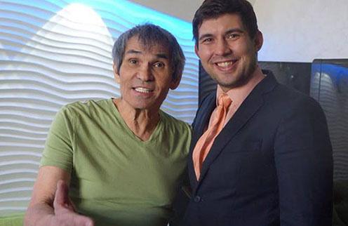 Двое Бари Алибасовых - отец и сын