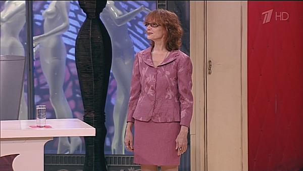 Розовый костюм Ольга приобрела в 90-х